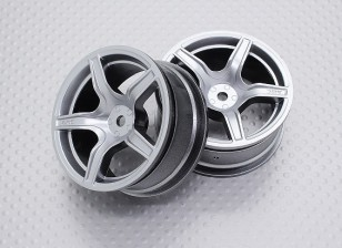 01:10 Scale High Quality Touring / Drift Wheels RC Car 12mm Hex (2pc) CR-C63S