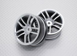 01:10 Scale High Quality Touring / Drift Wheels RC Car 12mm Hex (2pc) CR-GTS