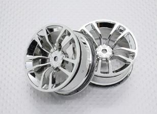 01:10 Scale High Quality Touring / Drift Wheels RC Car 12mm Hex (2pc) CR-DBSC