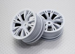 01:10 Scale High Quality Touring / Drift Wheels RC Car 12mm Hex (2pc) CR-BRW