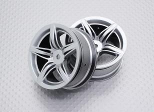 01:10 Scale High Quality Touring / Drift Wheels RC Car 12mm Hex (2pc) CR-F12S