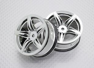 01:10 Scale High Quality Touring / Drift Wheels RC Car 12mm Hex (2pc) CR-F12C