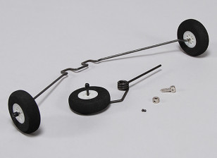 Hobbyking Club Trainer 1265mm - Vervangende Landing Gear Set