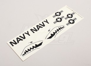 US Navy Stars & Bars / Sharksmouth voor Parkfly Jet