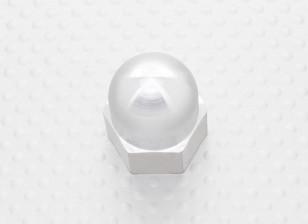 19mm Alloy Prop Nut / Spinner Suites 5mm discussie (zilver geanodiseerd)