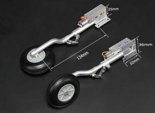 Turnigy Full Metal Servoless 90 graden zet vrij met 134mm Oleo Legs (2 stuks)