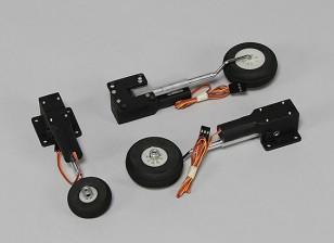 Durafly ™ DH Vampire 1100mm - Vervanging Retract Set