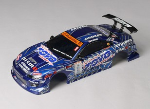 01:10 GP Sports S15 Silvia geëindigd Body Shell w / LED Buckets