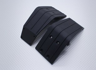 Front & Rear Bumper Supporting Plate - Nitro Circus Basher 1/8 Schaal Monster Truck