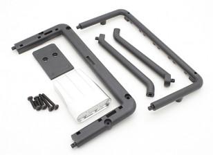 Basher Nitro Circus MT - Filter Cover, Rear Frame en ondersteuning (lichaamsdeel)
