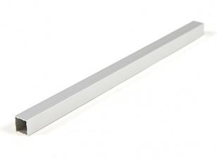 Aluminium vierkante buis DIY Multi-Rotor 12.8x12.8x250mm (.5Inch) (zilver)