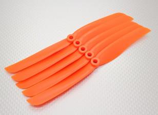 GWS Style Propeller 8x4 Oranje (CCW) (5 stuks)