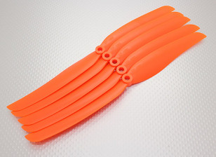 GWS Style Propeller 10x6 Orange (CCW) (5 stuks)