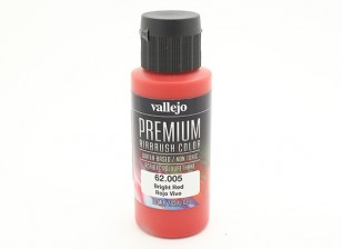 Vallejo Premium Color Acrylverf - Bright Red (60 ml)