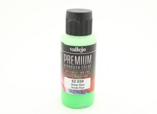 Vallejo Premium Color Acrylverf - Green Fluo (60 ml)