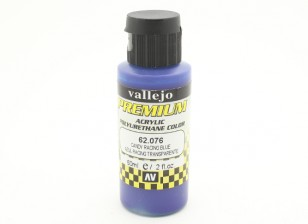 Vallejo Premium Color Acrylverf - Candy Racing Blue (60 ml)