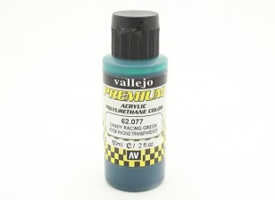 Vallejo Premium Color Acrylverf - Candy Racing Green (60 ml)