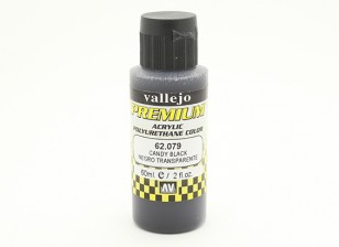 Vallejo Premium Color Acrylverf - Candy Black (60ml)