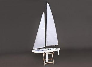 Glasvezel RC Yacht Zeilboot Monsoon 900mm (ARR)