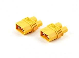 XT60 Man-EC3 Adapter Plug (2 stuks)