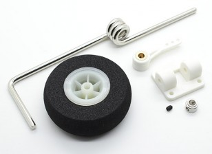 Sprung Steering Nose Wheel Assembly Voor 46 ~ 60 Class Models