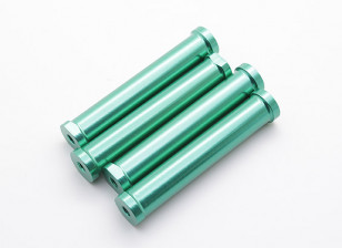 M4 x 60mm CNC Aluminium Stand-Offs (Groen) 4 stuks
