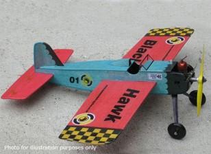 Black Hawk modellen Stunt Trainer Controle Line Balsa 457mm (Kit)