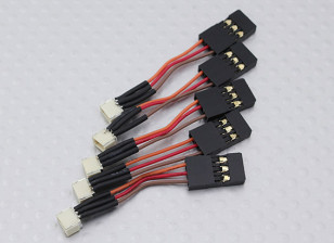 50mm Female JST-SH 1.0mm naar Male JR (5pcs / bag)