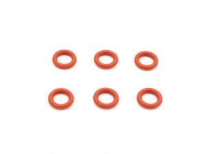 Diff. O-ringen (6 stuks) - BSR 1/8 Rally