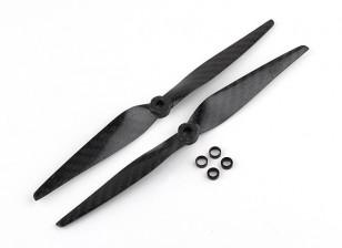 Multistar Carbon Fiber Propeller 8x4.5 Black (CW / CCW) (2 stuks)
