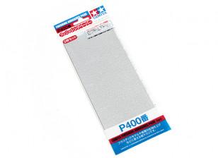 Tamiya Afwerking Wet / Dry Schuurpapier P400 Grade (3pc)