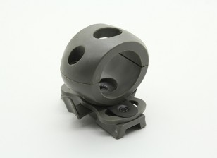 FMA 25mm zaklamp mount voor schold Helmet (Foliage Green)