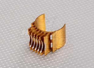 Gold Aluminum Motor Heat Sink 540/550/560 (36mm)