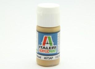Italeri Acrylverf - Flat Wood
