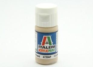 Italeri Acrylverf - Flat Sand