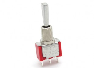 FrSky Replacement 3 Position Switch met korte, Flat Toggle voor Taranis Transmitter