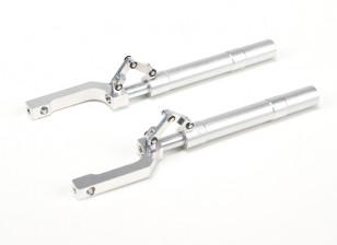 Alloy Oleo Struts Offset met Trailing Link 155mm ~ 12,7 mm Pin (2 stuks)
