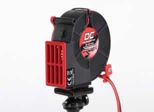 TrackStar 12V DC borstelloze Cooling Fan w / Tripod