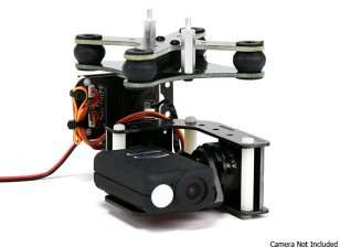 Turnigy Mobius 2-Axis Gimbal met Tarot Controller en AX2206 Motors