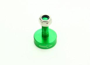CNC Aluminium M6 Quick Release Self-Aanscherping Prop Adapter - Green (Prop Side) (met de klok mee)