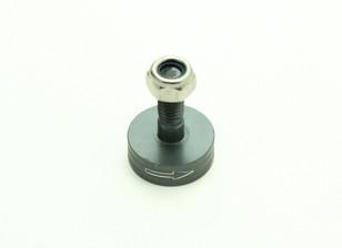 CNC Aluminium M6 Quick Release Self-Aanscherping Prop Adapter - Titanium (Prop Side) (met de klok mee)