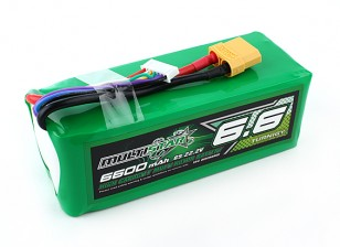 Multistar High Capacity 6600mAh 6S 10C Multi-Rotor Lipo Pack
