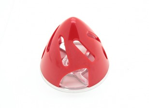Turnigy Turbo Spinner (70mm) Rood