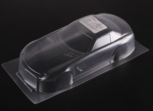 01:10 BENZ SLS AMG Clear Body Shell
