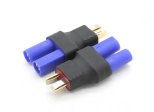 T-Connector-naar-EC5 Battery Adapter (2 stuks / zak)