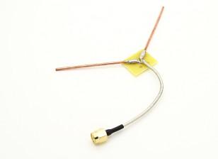 1.2GHz 120 ° Flying V-antenne (RP-SMA)