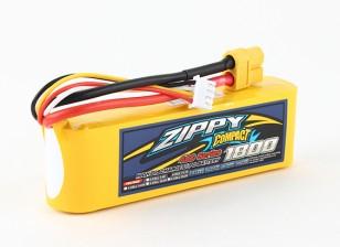 Pack ZIPPY Compact 1800mAh 3s 40c Lipo