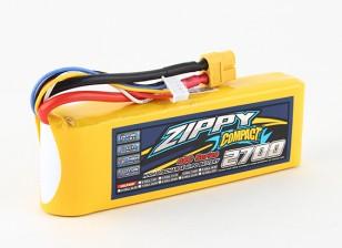 Pack ZIPPY Compact 2700mAh 4s 40c Lipo