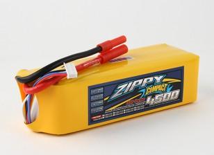 Pack ZIPPY Compact 4500mAh 6s 40c Lipo