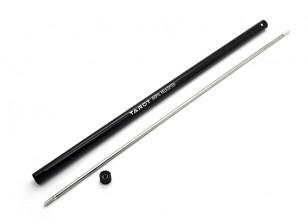 Tarot 450 PRO Torque Tube w / Tail Boom - Zwart (TL45039)
